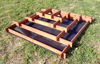 Pyramide Planter faite avec des palettes pour votre jardin