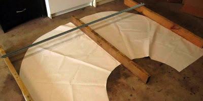 Table faite de planches de palettes4