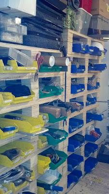 Une étagère facile à faire pour organiser votre garage