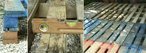 revêtement de sol en bois de palettes3