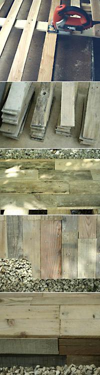 revêtement de sol en bois de palettes4