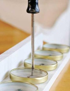 Étagère de cuisine d'épice fabriqué à partir d'une palette4