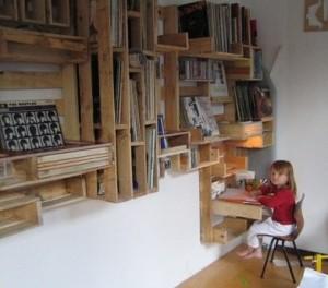 Des idées originales faites avec des palettes en bois 3