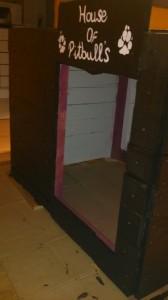 Double chenil faite avec des palettes en bois2