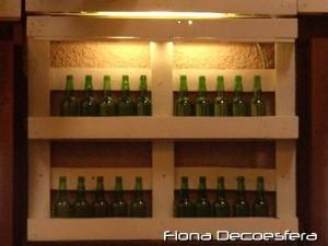 Idées de porte-bouteilles à base de palettes3