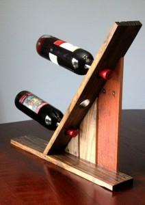 Idées de porte-bouteilles à base de palettes7