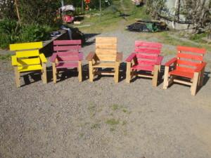 Chaises pour la terrasse et un hamac pour bronzer2