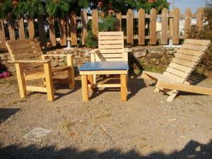 Chaises pour la terrasse et un hamac pour bronzer3