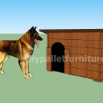 Comment faire une niche pour chien avec des palettes quotes - Niche pour chien avec palette ...