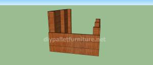 Projet et des plans pour construire une niche pour chien avec des palettes (4)