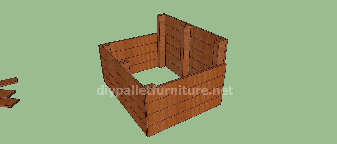 wonderful faire une terrasse avec des palettes 9 projet et des plans pour construire une niche. Black Bedroom Furniture Sets. Home Design Ideas