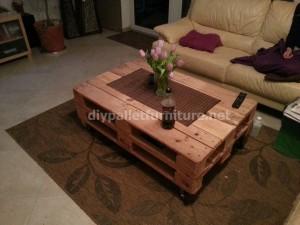 Table de palette pneumatique