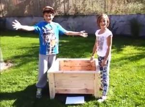 Vidéo-guide sur la façon de construire un planteur avec des palettes
