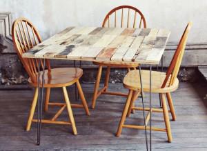 Comment faire une table rustique et vintage avec des planches de palettes (12)