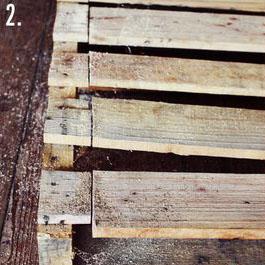 Comment faire une table rustique et vintage avec des planches de palettes (5)