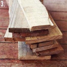 Comment faire une table rustique et vintage avec des planches de palettes (6)