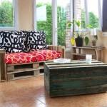 Vidéo examples de meubles fabriqués à partir de palettes