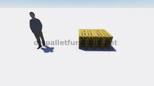 Instructions et plans 3D de la façon de faire un canapé pour le jardin avec des palettes 1
