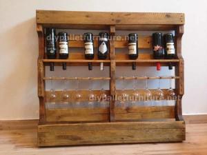 Instructions sur la façon de faire un casier à vin en bois avec des palettes (11)