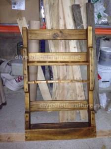 Instructions sur la façon de faire un casier à vin en bois avec des palettes (2)