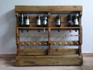 Instructions sur la façon de faire un casier à vin en bois avec des palettes