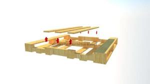Instructions sur la façon de faire un casier à vin en bois avec des palettes (6)