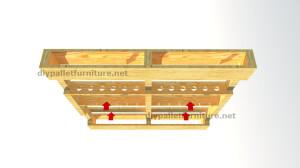 Instructions sur la façon de faire un casier à vin en bois avec des palettes (9)