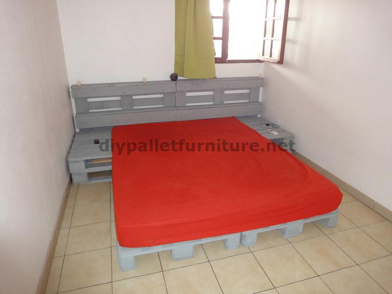 pallet bed frame instructions