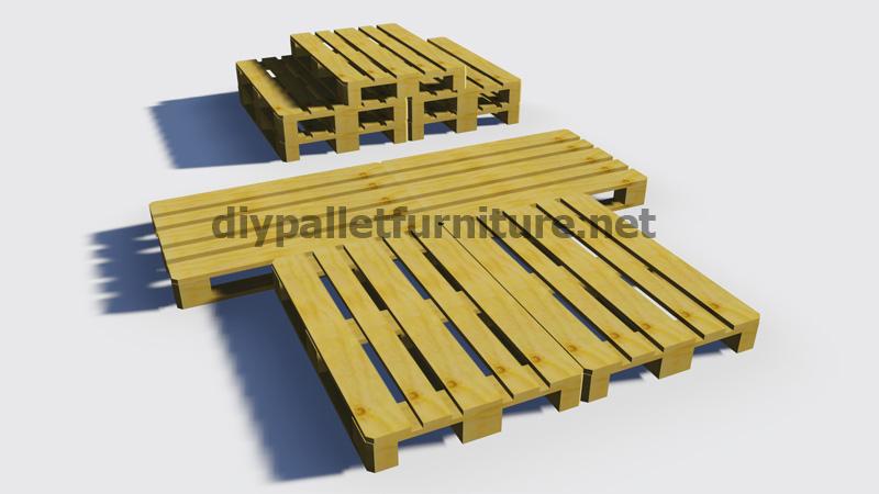 Instructions sur la fa on de faire un lit avec des palettesmeuble en palette - Comment faire un lit avec des palettes ...