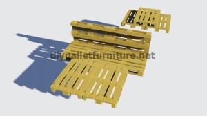 Instructions sur la façon de faire un lit avec des palettes4
