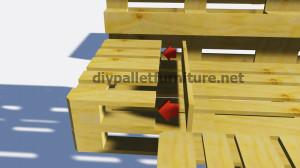 Instructions sur la façon de faire un lit avec des palettes5