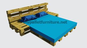 Instructions sur la façon de faire un lit avec des palettes7