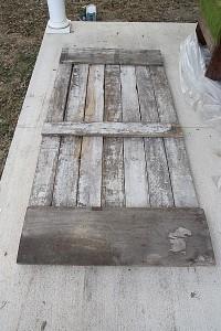 Instructions sur la façon de faire une porte coulissante avec palettes 5