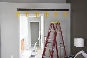 Instructions sur la façon de faire une porte coulissante avec palettes 8