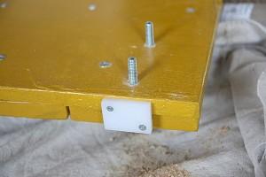 Instructions sur la façon de faire une porte coulissante avec palettes 9