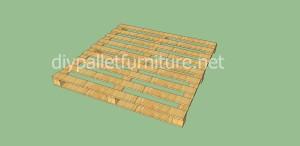 Jardin d'enfants faite avec des palettes et des plans du processus (5)