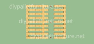 Jardin d'enfants faite avec des palettes et des plans du processus (7)