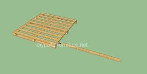 Plancher simple faite avec des palettes en bois3