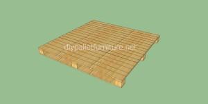 Plancher simple faite avec des palettes en bois5
