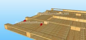 Plans et vidéo de la façon de faire une maison avec des palettes ( 1 de 3 )11