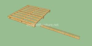 Plans et vidéo de la façon de faire une maison avec des palettes ( 1 de 3 )3