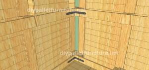 Plans et vidéo de la façon de faire une maison avec des palettes ( 2 de 3 ) (10)
