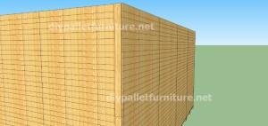 Plans et vidéo de la façon de faire une maison avec des palettes ( 2 de 3 ) (16)