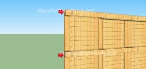 Plans et vidéo de la façon de faire une maison avec des palettes ( 2 de 3 ) (3)