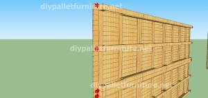 Plans et vidéo de la façon de faire une maison avec des palettes ( 2 de 3 ) (6)