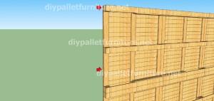 Plans et vidéo de la façon de faire une maison avec des palettes ( 2 de 3 ) (7)
