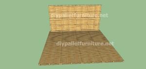Plans et vidéo de la façon de faire une maison avec des palettes ( 2 de 3 ) (8)