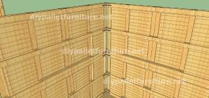 Plans et vidéo de la façon de faire une maison avec des palettes ( 2 de 3 )Plans et vidéo de la façon de faire une maison avec des palettes ( 2 de 3 )