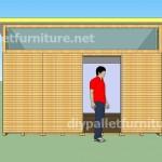 Plans et vidéo de la façon de faire une maison avec des palettes ( 3 de 3 )