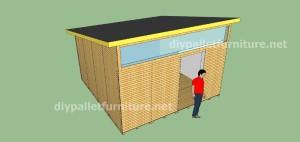 Plans et vidéo de la façon de faire une maison avec des palettes ( 3 de 3 ) 12